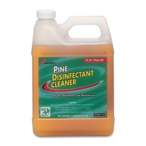 Pine Disinfectant Cleaner, Concentrated, 1 Liter Bottle by SKILCRAFT