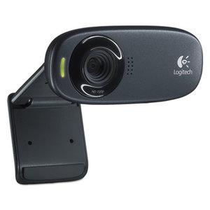 Logitech 960000585 HD C310 Portable Webcam, 5MP, Black by LOGITECH, INC.