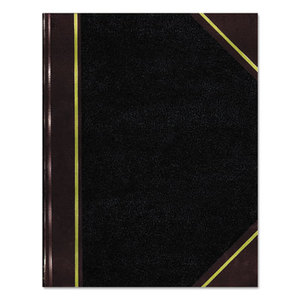 REDIFORM OFFICE PRODUCTS 57131 Texhide Series Account Book, Black/Burgundy, 300 Green Pages, 14 1/4 x 8 3/4 by REDIFORM OFFICE PRODUCTS