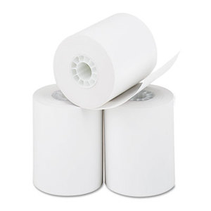 """PM Company, LLC 5233 Thermal Paper Rolls, Cash Register/Calculator Roll, 2 1/4"""" x 85 ft, White, 3/Pk by PM COMPANY"""