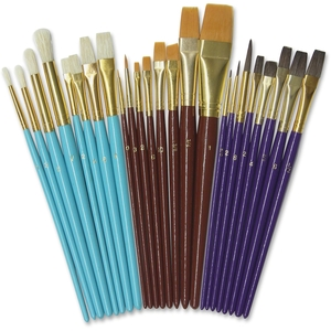 The Chenille Kraft Company 5134 Brush Deluxe,Ast,24Pc by ChenilleKraft