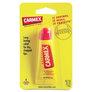 Martin Yale Industries 62001 Carmex Original Lip Balm, Tube, .35oz., 6/BX, Cherry by Lil' Drug Store