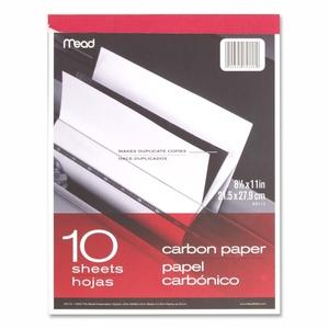 "ACCO Brands Corporation 40112 Carbon Paper Tablet, 8-1/2""x11"", Black Carbon by Mead"
