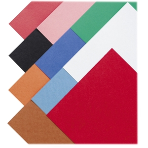 "Construction Paper,Smooth Textured,12""x18"",50/PK,Assorted by Pacon"