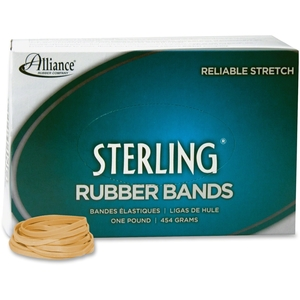"""Alliance Rubber Company 24315 Rubber Bands, #31, 2.5""""x1/8"""", 1200/BX, CPE by Sterling"""