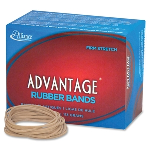 """Georgia Pacific Corp. 26189 Rubber Bands, Size 18, 1/4 lb., 3""""x1/16"""", Approx. 370/BX by Advantage"""
