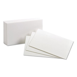 ESSELTE CORPORATION 30 Unruled Index Cards, 3 x 5, White, 100/Pack by ESSELTE PENDAFLEX CORP.