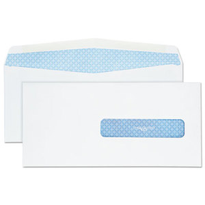 QUALITY PARK PRODUCTS 21432 Health Form Gummed Security Envelope, #10, White, 500/Box by QUALITY PARK PRODUCTS