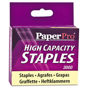 "Accentra, Inc. 1962 High-Capacity Staples, 3/8"" Leg Length, 3000/Box by ACCENTRA, INC."