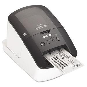 Brother Industries, Ltd BRT-QL710W QL-710W Label Printer, 93 Labels/Minute, 5w x 9-3/8d x 6h by BROTHER INTL. CORP.