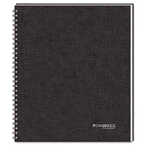 MeadWestvaco 06066 Side-Bound Guided Business Notebook, QuickNotes, 8 7/8 x 11, 80 Sheets by MEAD PRODUCTS