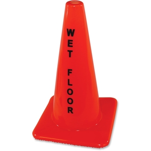 IMPACT PRODUCTS, LLC 9100 Safety Cone Sign, Wet Floor, Orange by Impact Products