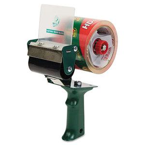 """Shurtech Brands, LLC 1064012 Extra-Wide Packaging Tape Dispenser, 3"""" Core, Green by SHURTECH"""