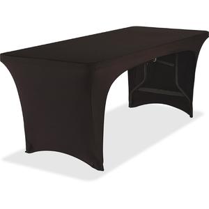 ICEBERG ENTERPRISES, LLC 16541 Open Table Cover, Stretch Fabric, 6Ft, Black by Iceberg