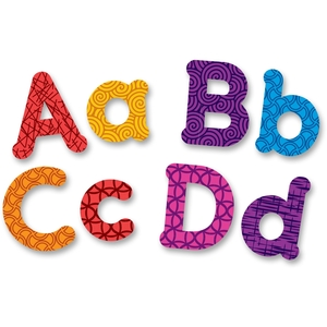 LEARNING RESOURCES/ED.INSIGHTS 7725 Upper/Lower Magnetic Letters, Ast by Learning Resources