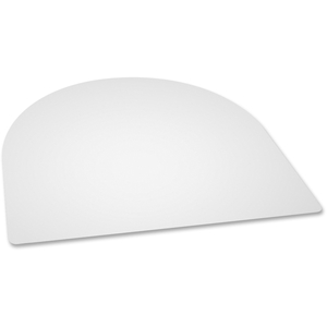 """Lorell Furniture 84283 Desk Pad, Contour, 24""""Wx19""""D, Cl by Lorell"""