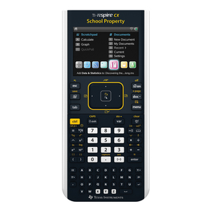 TEXAS INSTRUMENTS INC. N3/TPK/2L1 TI-Nspire CX Color Graphing Calculator EZ Spot Yellow Teacher Kit Pack of 10