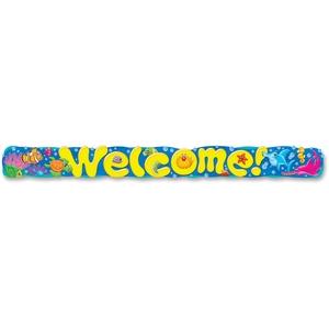 TREND ENTERPRISES, INC. 25085 Banner, Welcome Sea Buddies, Reusable, Mi by Trend
