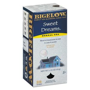 BIGELOW TEA CO. 10396 Single Flavor Tea, Sweet Dreams, 28/Box by BIGELOW TEA CO.