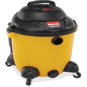 Wet/Dry Vacuum, Industrial, 12G, 2.5HP, 35' Cord, YW/BK by Shop-Vac