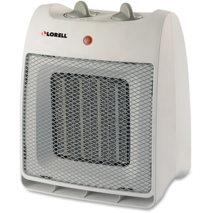 Dominion Blueline, Inc 33986 Ceramic Heater, 1500Watts, White by Lorell