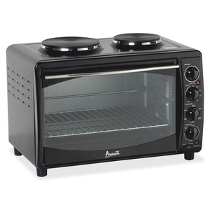 "Avanti Products MKB42B Multifunction Oven w/Burner, 22-3/4""x15-3/4""x15-2/5"", BK by Avanti"
