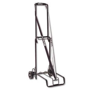 Bond Street, Ltd 390002BLK Luggage Cart, 125lb Capacity, 13 x 10 Platform, Black Steel by BOND STREET LTD.