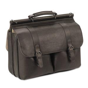 "UNITED STATES LUGGAGE D535-3 Executive Leather Briefcase, 16"", 16 1/2 x 5 x 13, Espresso by UNITED STATES LUGGAGE"
