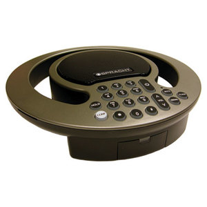 Spracht Products CP2016 Aura SoHo Conference Phone, Silver/Black by SPRACHT