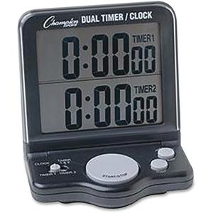 CHAMPION SPORTS DC100 Dual Timer/Clock by Champion Sport