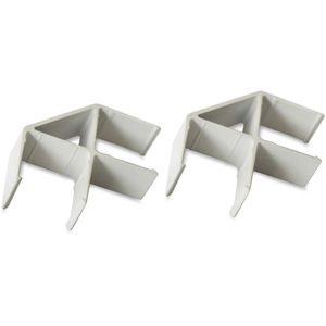 Lorell Furniture 90260 Panel Connector, 90 Degree, 20/ST, Aluminum by Lorell