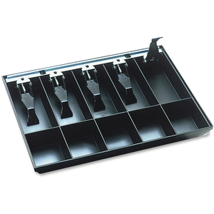 MMF INDUSTRIES 225-2862-04 STEELMASTER by MMF Industries Cash Drawer Replacement Tray, Black by MMF