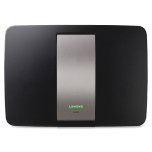 "Belkin International, Inc EA6500 Wireless Router, 2 USB Ports, 450N, QoS, 8""x6""x4"", Black by Linksys"