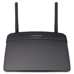 Belkin International, Inc WAP300N Wireless N Access Point, 300 Mbps, Black by Linksys