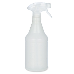 """National Industries For the Blind 8125015770210 Trigger Spray Bottle, 7-7/8""""L, 24 fl oz., 3/PK,Opaque by SKILCRAFT"""