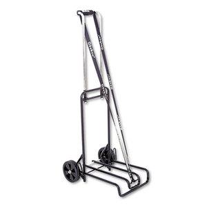 Bond Street, Ltd 390007BLK Luggage Cart, 250lb Capacity, 12 1/4 x 13 Surface, Black/Chrome by BOND STREET LTD.