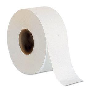 "Georgia Pacific Corp. 12798 Jumbo Jr. Bathroom Tissue Roll, 9"" dia, 1000ft, 8 Rolls/Carton by GEORGIA PACIFIC"