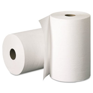 Kimberly-Clark Corporation 2068 Hard Roll Towels, 8 x 400ft, White, 12 Rolls/Carton by KIMBERLY CLARK