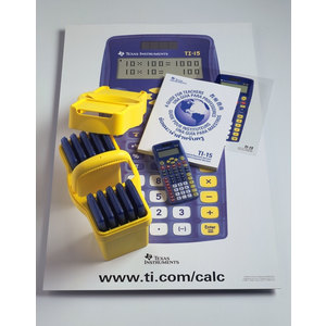 TI-15 Explorer Calculator with Fraction Capabilities (Teacher Kit Pack of 10)