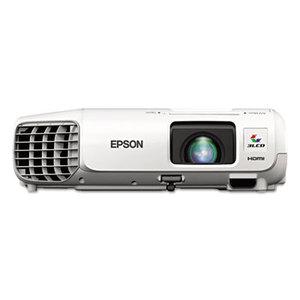 Epson Corporation V11H687020 PowerLite 98H XGA 3LCD Projector, 3000 lm by EPSON AMERICA, INC.