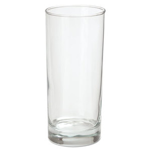 Riviera Beverage Glasses, 16oz, Clear, 6/Box by OFFICE SETTINGS