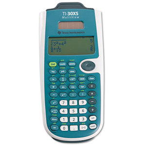 TEXAS INSTRUMENTS INC. TI-30XSMV TI-30XS MultiView Scientific Calculator, 16-Digit LCD by TEXAS INSTRUMENTS