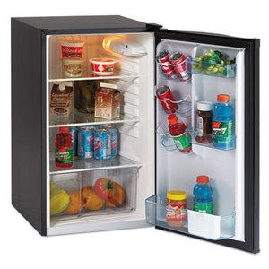 "Avanti Products AR4446B 4.3 CF Refrigerator, 19 1/2""W x 22""D x 33""H, Black by AVANTI"