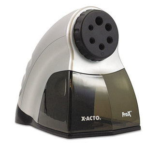 ELMER'S PRODUCTS, INC 1612 ProX Commercial Electric Pencil Sharpener, Silver/Black by ELMER'S PRODUCTS, INC.