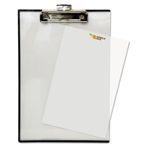 """BAUMGARTENS TA1611 Quick Reference Clipboard, 1/2"""" Capacity, 8 1/2 x 11, Clear by BAUMGARTENS"""