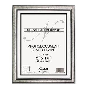 Nu-Dell Manufacturing Company, Inc 14281 Antique Silver Finish Wood Frame, 8 x 10 by NU-DELL MANUFACTURING