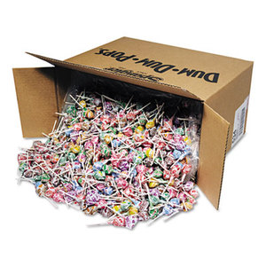 Spangler Candy Co 534 Dum-Dum-Pops, Assorted Flavors, Individually Wrapped, Bulk 30lb Carton by SPANGLER CANDY COMPANY
