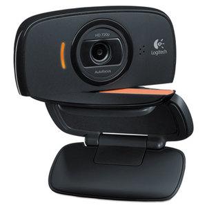 Logitech 960-000715 Webcam C525,720P HD, 8MP, Black/Silver by LOGITECH, INC.