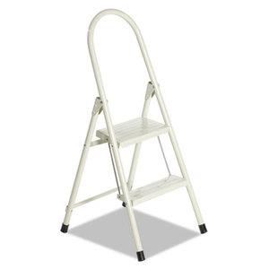 LOUISVILLE L4341-02 #560 Steel Qwik Step Platform Ladder, 16 7/8w x 19 1/2 Spread x 41h, Almond by LOUISVILLE
