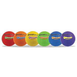 CHAMPION SPORTS SQVSET Super Squeeze Volleyball Set, Rhino Skin, Assorted, 6 Balls/Set by CHAMPION SPORT